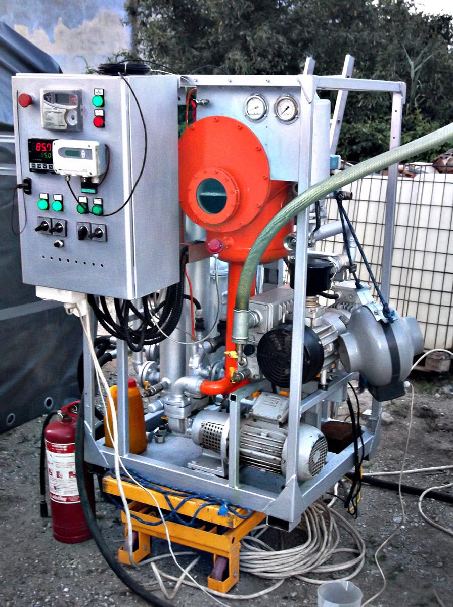 Versor Servicii Transformatoare instalatie reconditionare si regenerare ulei